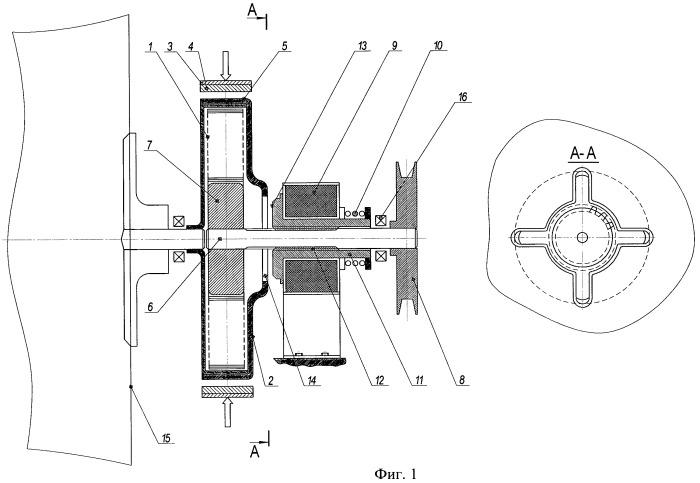 Устройство снижения вибрации при отжиме в стиральных машинах барабанного типа