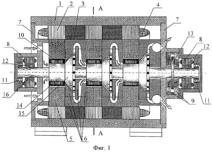 Модульный электроприводной компрессорный агрегат