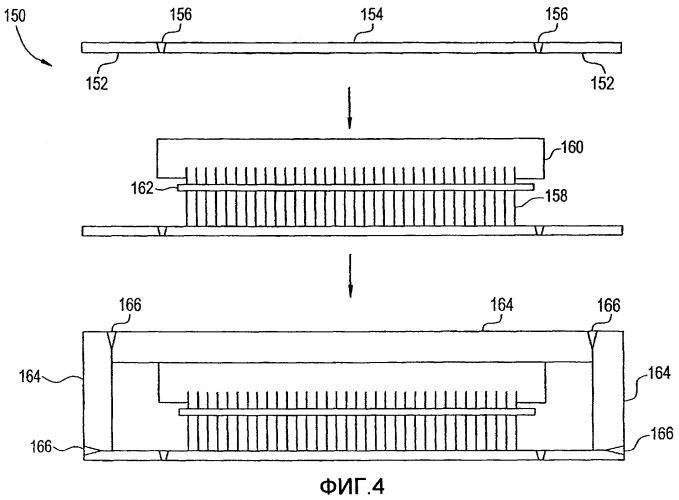 Герметизированный узел статора и способ его изготовления