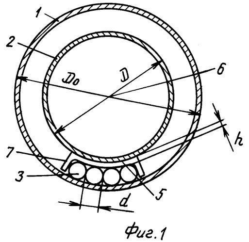 Шаровая подвижная опора для прокладки трубопроводов в гильзах