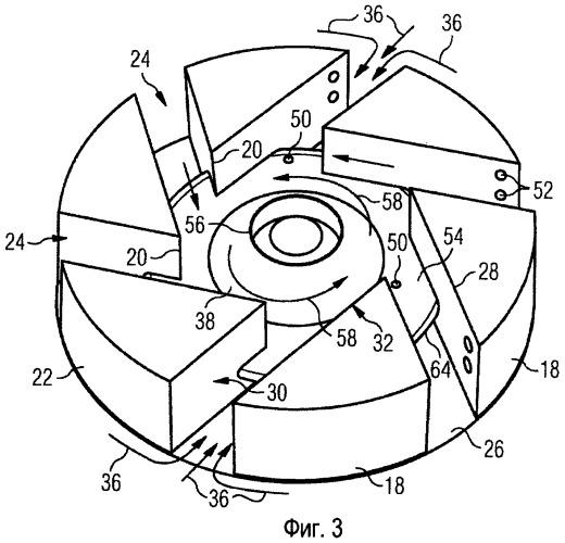 Улучшенные горелки для газотурбинного двигателя