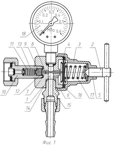 Газовый регулятор с неметаллическими элементами (варианты)