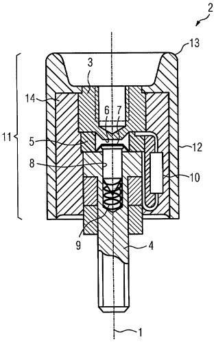 Разъединительное устройство переключения, а также способ производства разъединительного устройства переключения