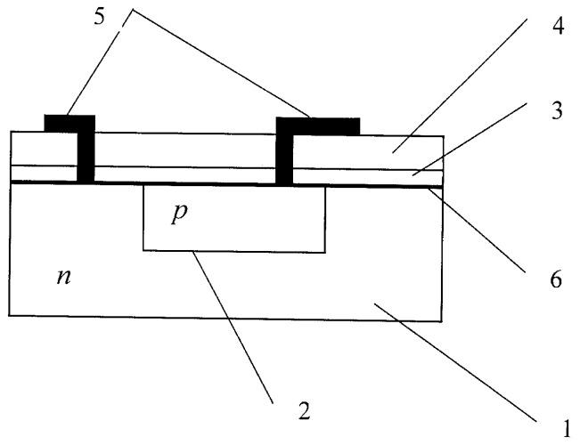 Планарный фотодиод на антимониде индия