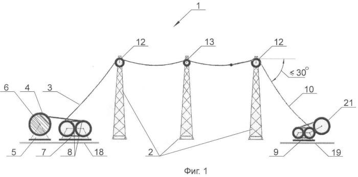 Фазный электропровод воздушной линии электропередачи и способ прокладки фазного электропровода воздушной линии электропередачи