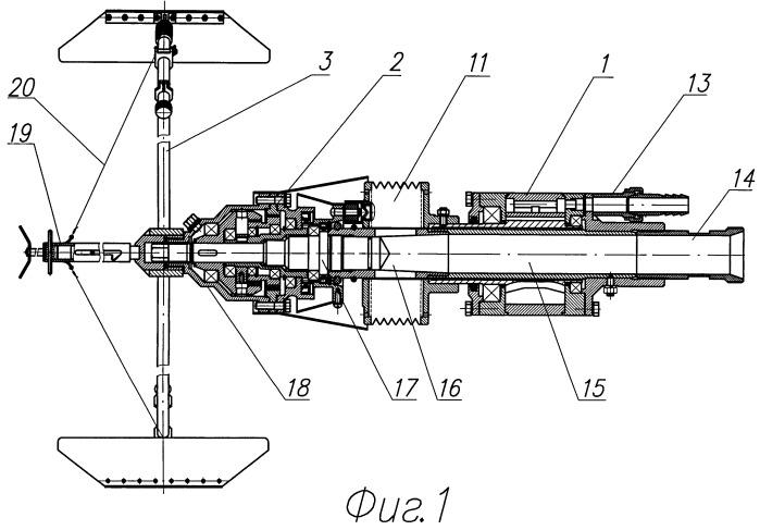 Пневматическая головка для центробежной облицовки внутренних поверхностей трубопроводов