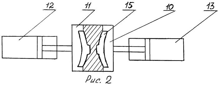 Способ литья тормозных колодок и конвейерная кокильная установка для осуществления способа