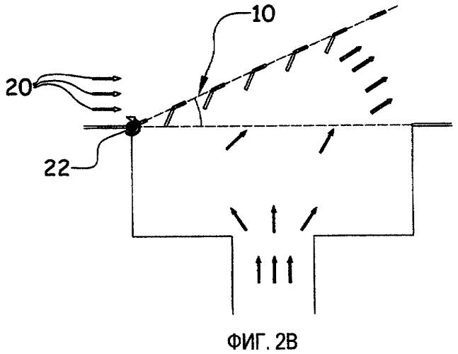 Подвижное устройство выхода воздуха для летательного аппарата