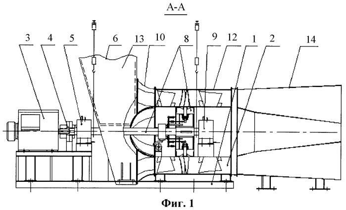 Шахтная вентиляторная установка