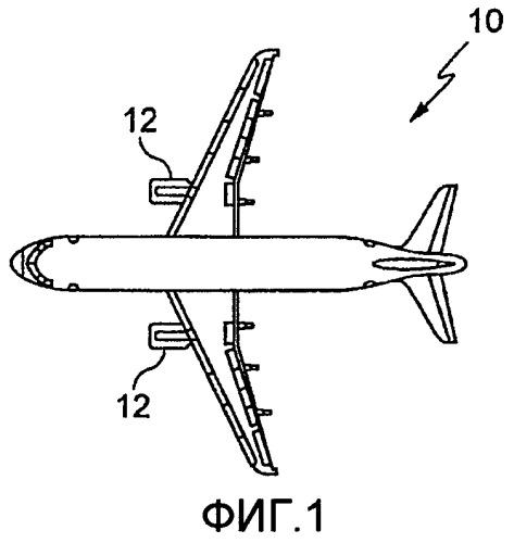 Гондола реактивного двигателя летательного аппарата и летательный аппарат, содержащий такую гондолу
