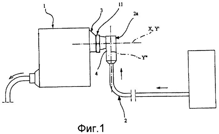 Система уплотненного соединения между трубчатыми секциями, в частности, для уплотненного соединения трубки для подачи горючего газа под высоким давлением с редукционным клапаном в автомобильных двигателях внутреннего сгорания