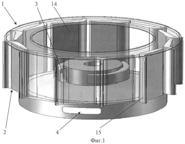 Ортогональный энергетический агрегат для преобразования энергии потоков воды или воздуха