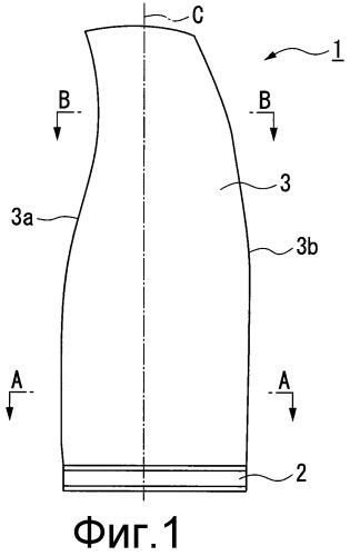 Лопатка газотурбинного двигателя для воздушного судна и способ ее изготовления