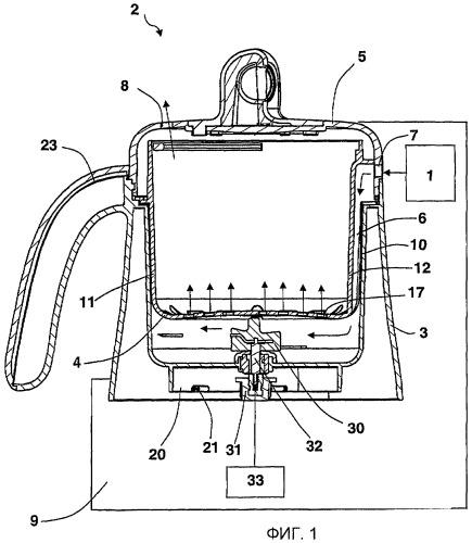 Аппарат для приготовления пищи на пару
