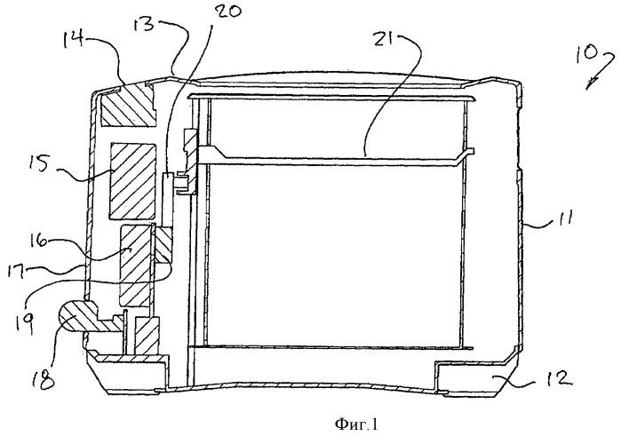 Тостер с электроприводом и средством визуального контроля