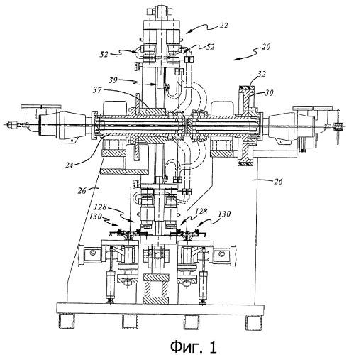 Устройство для загрузки заготовки в машину для компрессионного формования