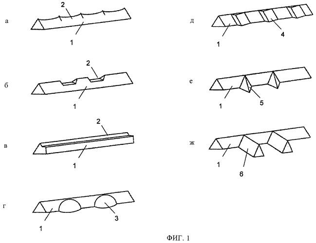 Защитный элемент с несколькими обладающими оптически переменными свойствами структурами