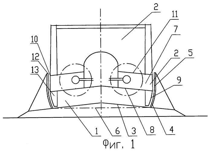 Транспортная система (варианты), экранопоезд и направляющая для нее