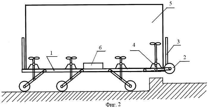 Тележка для транспортировки крупногабаритных изделий