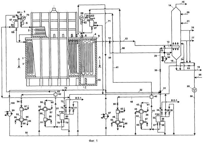 Установка термодеструкции для переработки нефтяных остатков