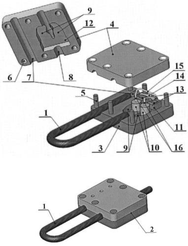 Запорно-пломбировочное устройство тросового типа