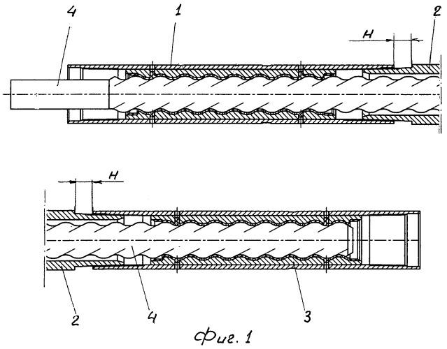 Способ сборки секционного статора винтового забойного двигателя