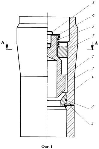 Дроссельно-запорный клапан устройства для установки хвостовика обсадной колонны в скважине