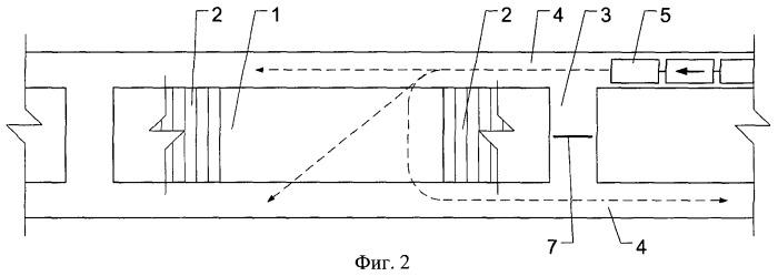 Способ тоннельной вентиляции