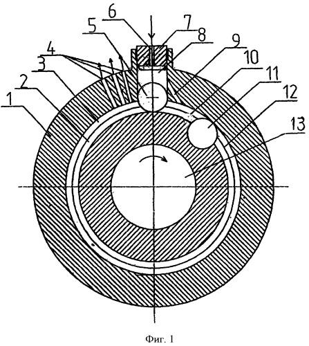 Роторно-шаровый двигатель