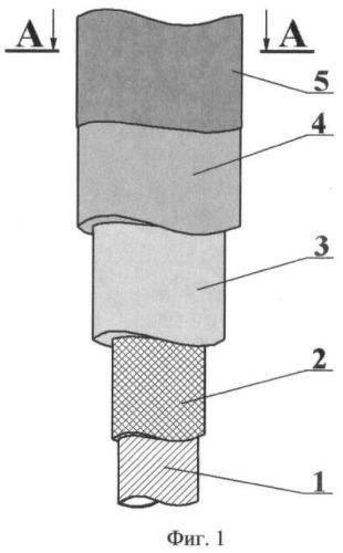 Секция райзера из полимерных композиционных материалов