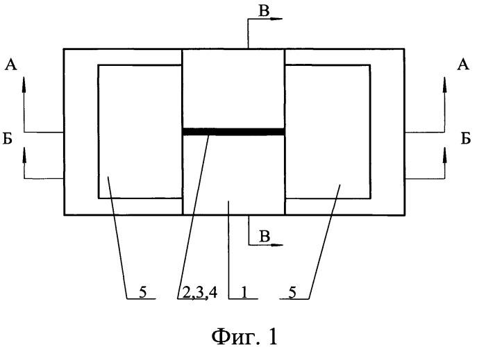 Наклеиваемый полупроводниковый тензорезистор