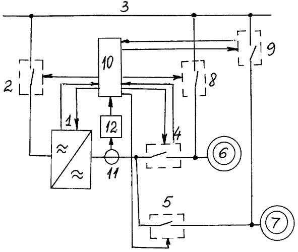 Способ надежного управления групповым частотно-регулируемым электроприводом