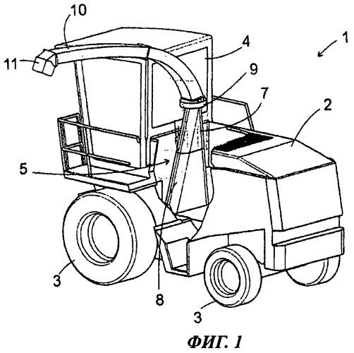 Уборочная машина с регулируемым перегрузочным устройством