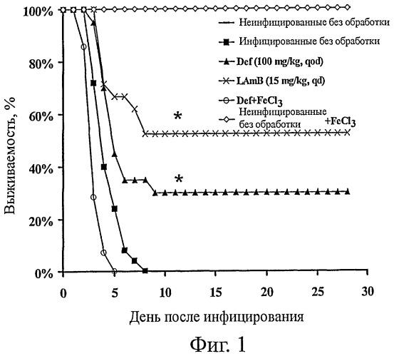 Композиции и способы лечения мукормикоза и других грибковых заболеваний