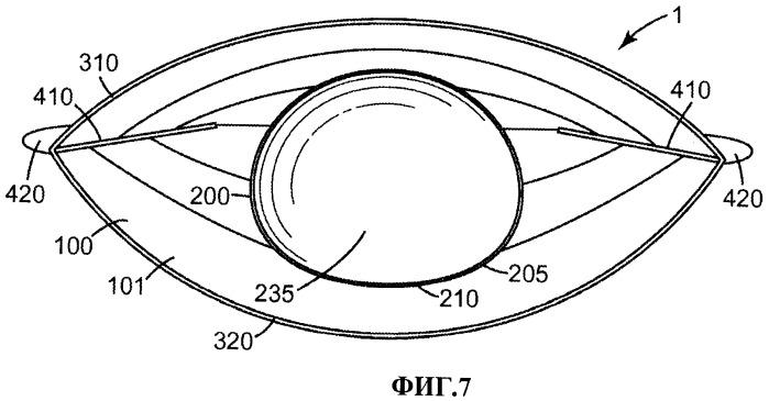 Раскладывающаяся лицевая маска с приводимым в зацепление элементом жесткости
