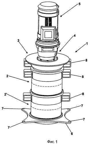 Многосекционная вальцовая мельница