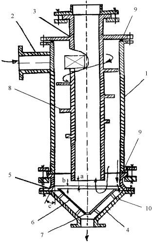 Циклонный обогатительный аппарат