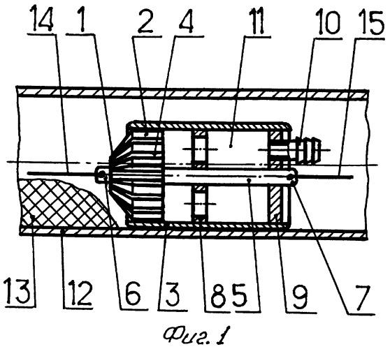 Устройство очистки внутренней поверхности безнапорных трубопроводов
