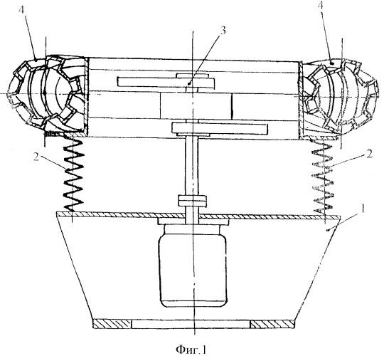 Малогабаритная вибрационная установка для приготовления растворов