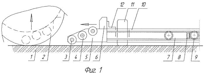 Механизм одностороннего захвата колес для многоярусных гаражей и эвакуаторов автомобилей