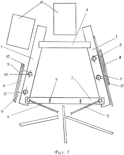 Комплекс для сортировки плавающей древесины и ее сплотки