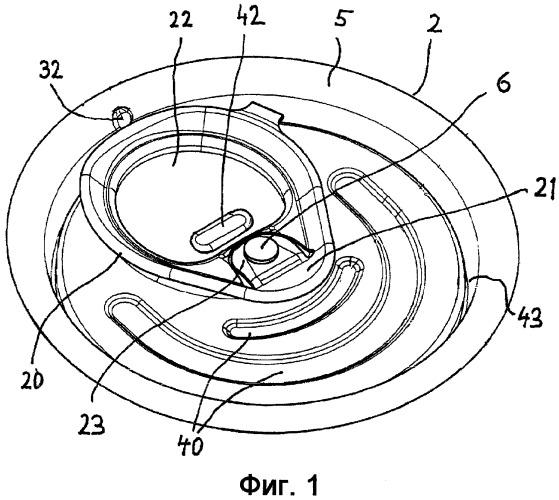 Повторно закрываемая торцевая крышка банки с поворотным открывающе-закрывающим ушком и банка для напитка, оснащенная повторно закрываемой торцевой крышкой