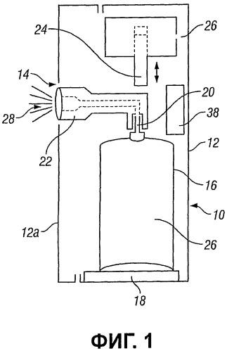 Разбрызгивающее устройство и способ его использования