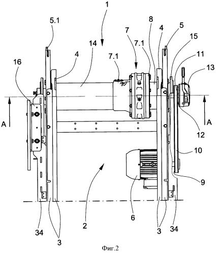Эскалатор или грузовой подъемник с приводом