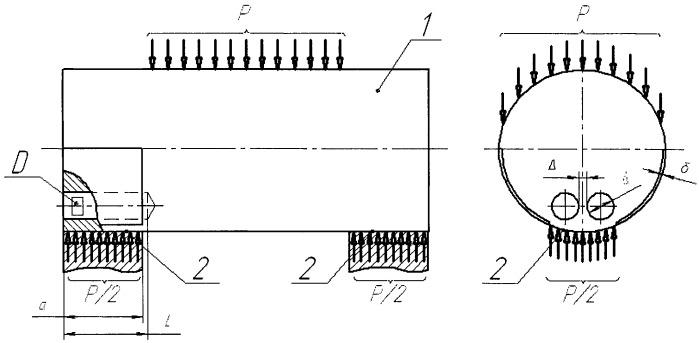 Тензометрическая ось для измерения нагрузки на крюке грузоподъемного крана
