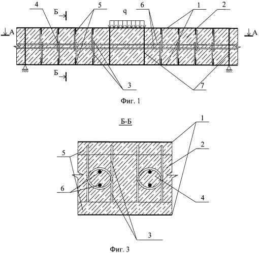 Композитное сталебетонное перекрытие с внешним листовым армированием преимущественно для ледового пояса морской стационарной ледостойкой платформы