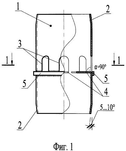 Способ соединения трубобетонных колонн по высоте и перекрытиям