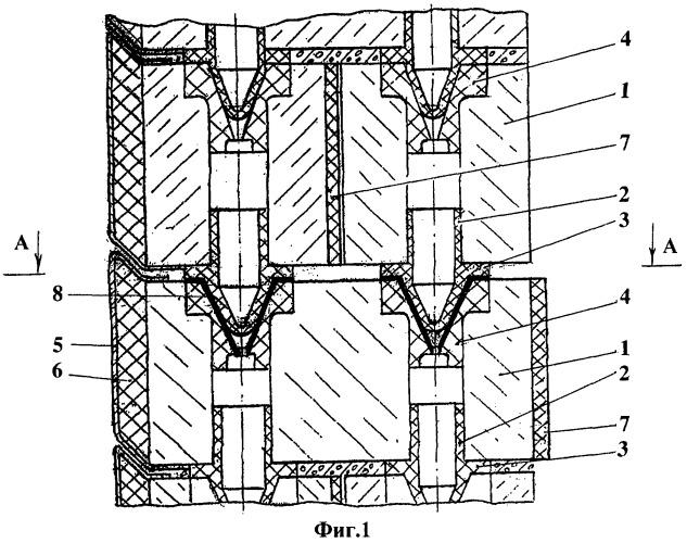 Способ возведения стен, установка для автоматизированного возведения стен из строительных модулей и комплект оборудования для механизированного возведения стен из строительных модулей