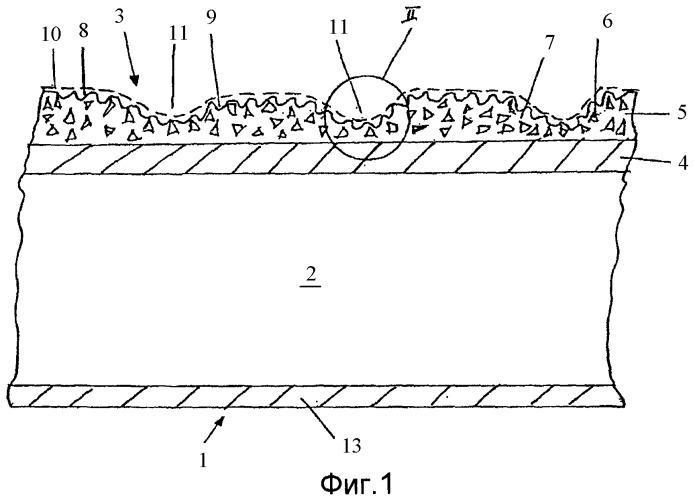 Способ изготовления напольной панели с высокими противоскользящими свойствами