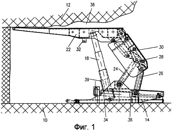 Секция щитовой механизированной крепи